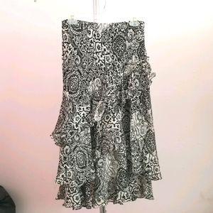 Lauren Ralph Lauren Petite Silk Skirt